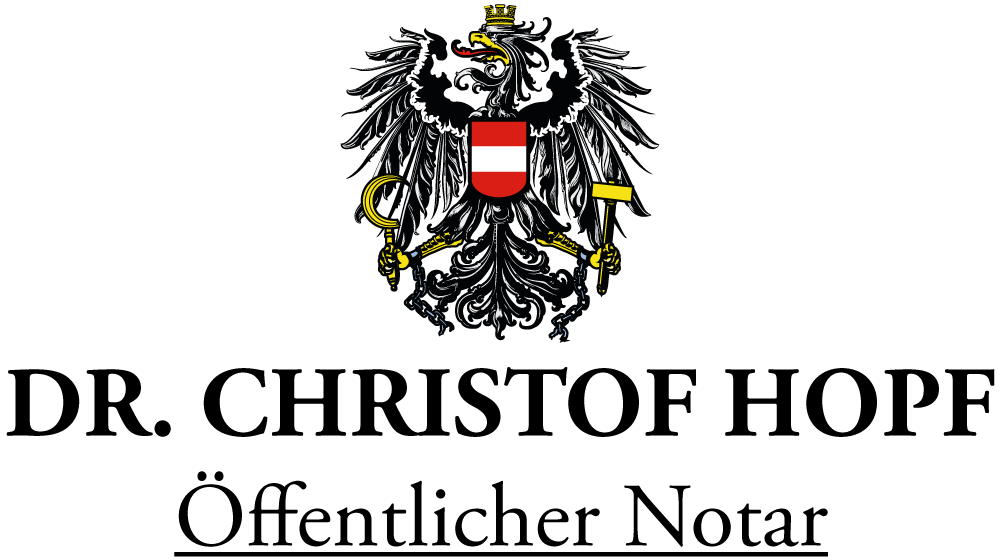 Dr. Christof Hopf - Öffentlicher Notar Hall in Tirol